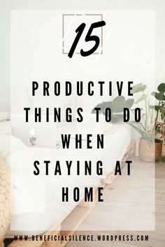 15 productive things to do when staying at home. - - From time to time we run out of responsibilities, and sometimes we're forced to stay at home with no other choice ( and likely because of some wild coronavirus epidemic ). Home is your ideal …. Productive Things To Do, Things To Do When Bored, Pilates Training, Snoopy T-shirt, Band Workout, Work From Home Tips, Home Activities, Time Management Tips, Stay At Home