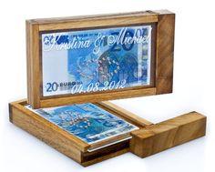 Magische Geldgeschenkbox mit Swarovski