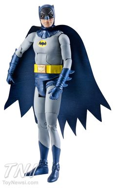 "Up close.  Batman Classic TV Series 6"" Figures Series 1 Details.  Collectors, get your wallets ready."