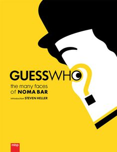 Guess Who?: The Many Faces of Noma Bar features over 50 minimalist vector illustrations that encapsulate, with brilliant subtlety and visual eloquence, the essence of famous politicians, philosophers and pop culture legends — a masterpiece of capturing character and sentiment with uncanny precision.