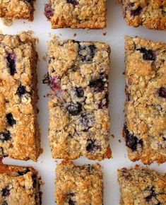 Low FODMAP Recipe and Gluten & lactose free Recipe - Blueberry flapjacks
