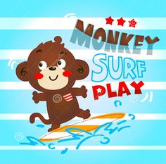 Find Monkey Cute Playing Surf Lined Background stock images in HD and millions of other royalty-free stock photos, illustrations and vectors in the Shutterstock collection. Thousands of new, high-quality pictures added every day. Surf Line, Baby Posters, Line Background, Monkey, Royalty Free Stock Photos, Wallpaper, Illustration, Cute, Fictional Characters