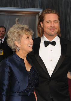 Pin for Later: Kennt ihr schon die Mütter der Stars? Brad Pitt