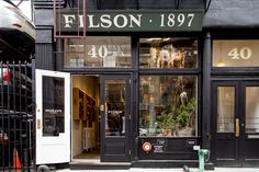 filson new york store - Google Search