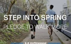 Join Our Step Into Spring Pledge!