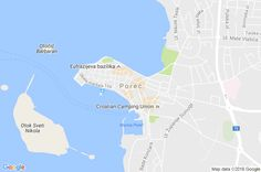 Mapa Poreč, #hrvatska #porec #istria best place in Croatia !!! http://miejscowosci.info/chorwacja/porec