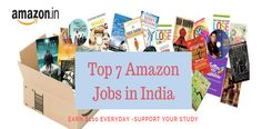 7 Top Amazon Online Jobs For Students to Earn up to $100 daily. Simple without investment part time jobs for smart College Students in India. Work from home