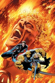 Ultimate Fantastic Four by Greg Land