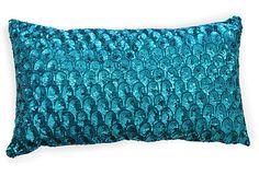 Turquoise Pompano Pillow on OneKingsLane.com