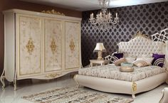 Este Classic Bedroom - Luxury Classic Bedroom Set