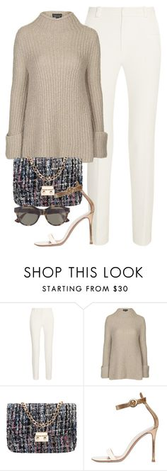 """Untitled #1454"" by camila-echi ❤ liked on Polyvore featuring Roland Mouret, Topshop, Gianvito Rossi, RetroSuperFuture, women's clothing, women's fashion, women, female, woman and misses"
