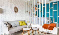There are many type of interior designs like scandinavian , vintage , bohemian and so on. Here are the beautiful pictures of studio interior design for you to make your small apartment look amazing! Studio Interior, Home Interior, Home Design, Design Ideas, Wall Partition Design, Loft Style Homes, Library Wall, Studio Apartment Decorating, Studio Apartment Partition