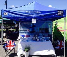 Wonder day Devon Tavistock Garden Event my wonderful Well Well Aromatherapy stall xx