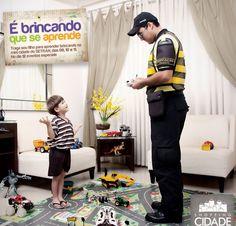 Dia das Crianças - Campanha educativa
