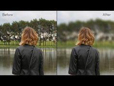 Photoshop Tutorial: Fake Shallow Depth of Field like Expensive camera Lens [Photoshopdesire.com] - YouTube