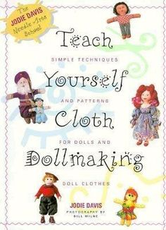 Free Fabric Doll Patterns | Free Patterns – ClothDollPatterns.com Main Pattern Page - Click on book picture to access patterns.