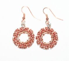 Byzantine earrings: My wife's own jewelry, check out her site at PROUDECREATIONS.COM