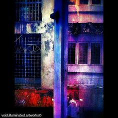 Windows to our soul? by Void Illuminated Artworks. Photo from the Instacanvas gallery of zhamlucan.
