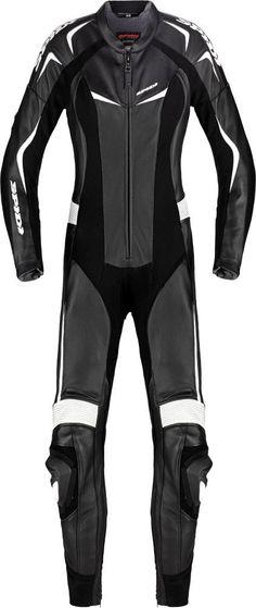 Spidi Sport Womens Mantis Wind Pro 1 Piece Leather Suit Black