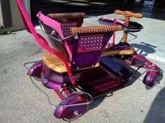 lowrider taylor tot imperial stroller custom paint and chrome Vintage Stroller, Cool Kidz, Bagged Trucks, Pedal Cars, Go Kart, Tricycle, Custom Paint, Vintage Children, Chrome