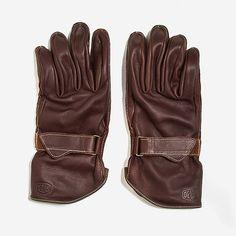 Deus Belted Biker's Gloves