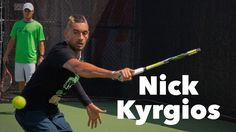 Nick Kyrgios I Training Session I Rogers Cup 2015