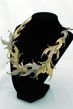 Sea Dragon Necklace. Bronze and fine silver. Gorgeous, beautiful movement.