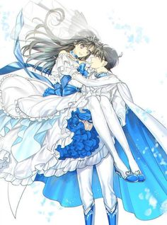 Image about love in Anime Romance 💖💖💖 by ~ Mira ~ ♥️ Magic Kaito, Detective Conan Ran, Detective Conan Shinichi, Conan Comics, Detektif Conan, Ran And Shinichi, Kudo Shinichi, Anime Manga, Anime Art