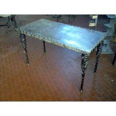 Tavolo Tavolino in FERRO BATTUTO . Realizzazioni Personalizzate . 638