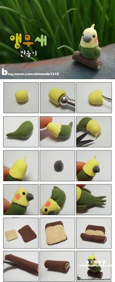 DIY Polymer Clay Bird Tutorial