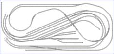 This is a large complex HO layout, based on a Tillig Elite track plan from their book and built in SCARM by Fabio Cuccia. N Scale Train Layout, N Scale Trains, Model Train Layouts, Minitrix Spur N, Train Info, Escala Ho, Model Railway Track Plans, Train Tracks, Ho Scale