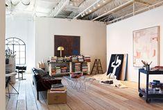 Jamie Bush's studio