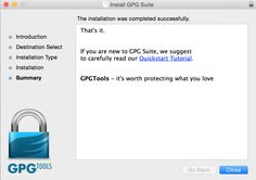 GPG Tools tagline: Protect what you love
