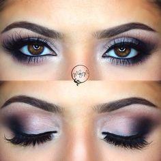 Matte smokey eye