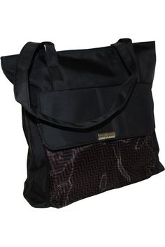Halston Tote Bag is perfect to take your essentials everywhere in style.  This black carrier 898107b1c90bd