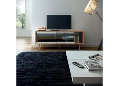 Tvs spot lights and tv stands on pinterest for Achatdesign meuble tv