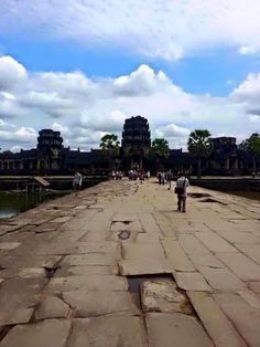 The imperial entrance of Angkor Wat. Cambodia Trip 12|2013