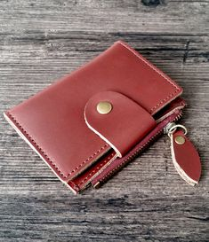 Key organizer made of genuine red/wine leather. Can hold keys, cards, cash and coins. Available in 4 colors on our Etsy shop Key Organizer, Leather Accessories, Red Wine, Keys, Coins, Coin Purse, Etsy Shop, Wallet, Shopping