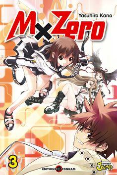 MxZero, tome 3, de Yasuhiro Kano. Tonkam, 2008. Action.
