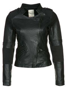 Nümph - CHILI - Leren jas - Zwart