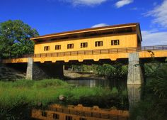 Pepperell Ma New Covered Bridge Photograph  - Pepperell Ma New Covered Bridge Fine Art Print