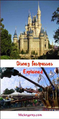 Disney Fastpasses explained