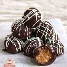 Bécsi baracktorta Caramel Apples, Truffles, Wedding Cakes, Muffin, Cookies, Breakfast, Food, Balls, Candy