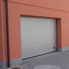Porta sezionale colore 9006