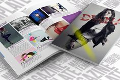 InDesign Magazine Template by scilaverna on Creative Market