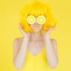Shades Of Yellow Color Names For Your Inspiration - Going To Tehran Cat Tiger, Mode Monochrome, Yellow Lipstick, Shooting Studio, Portrait Photography, Fashion Photography, Candy Photography, Yellow Photography, Photography Series