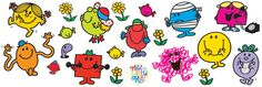 Mr. Men and Little Miss graphic