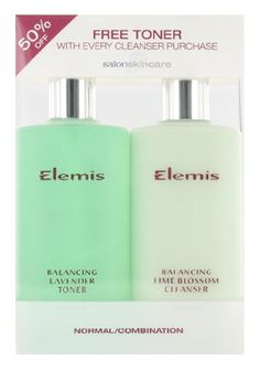 Elemis Cleanser & Toner Duo Normal/Combination (2x200ml) has been published at http://www.discounted-skincare-products.com/elemis-cleanser-toner-duo-normalcombination-2x200ml/