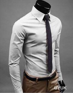YUNY Men Flannel Single Breasted Plus Size Stylish No-Iron Dress Shirt Wine Red 3XL