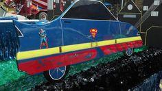 2014 Frankfort Fall Festival Parade - Superman car #Superman #Parade